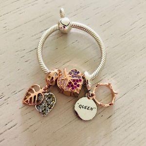 Pandora Charm, Pendant and Necklace